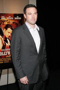 Ben Affleck at a N.Y. screening of