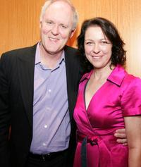 John Lithgow and Deborah Geffner at the AMPAS Great To Be Nominated Series