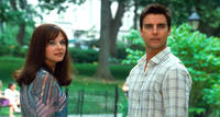 Ginnifer Goodwin as Rachel and Colin Egglesfield as Dex in