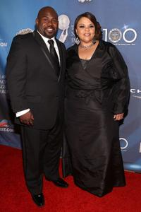 David Mann and Tamela Mann at the after party of 40th NAACP Image Awards.