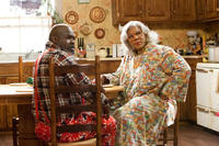 David Mann as Brown and Tyler Perry as Madea in