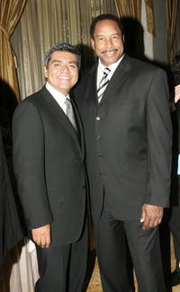 George Lopez and Dave Winfield at the National Kidney Foundation of Southern California's 27th Annual Gift of Life Celebration.