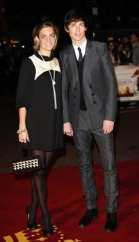 Eddie Redmayne and guest at the UK premiere of