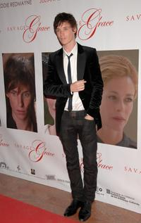 Eddie Redmayne at the premiere of