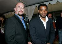 Jamie Bartlett and Chiwetel Ejiofor at the gala screening of