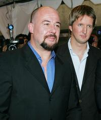 Jamie Bartlett and Director Tom Hooper at the gala screening of
