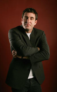 Paul Fitzgerald at the portrait studio at the 2006 AFI FEST in California.