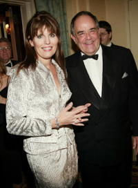 Lucie Arnaz and Laurence Luckinbill at the Museum of Television and Radio's Annual Gala.
