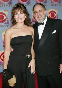 Laurence Luckinbill and his wife Lucie Arnez at the