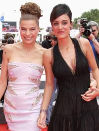 Elli Medeiros and Martina Gusman at the premiere of