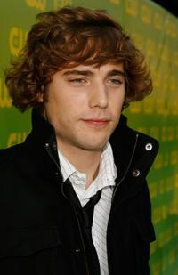 Dustin Milligan at the CW Launch party.