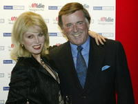 Joanna Lumley and Terry Wogan at the Oldie Of The Year Awards.