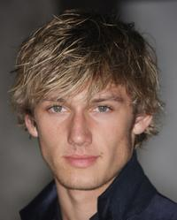 Alex Pettyfer at the Vanity Fair Portraits: Photographs 1913-2008 Exhibit grand opening party.