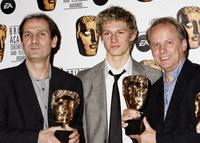 Peter Lord, Alex Pettyfer and Nick Park at the 11th British Academy Children's Film & Television Awards.