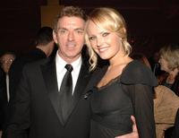Michael Patrick King and Malin Akerman at the HBO Post Emmy Party.