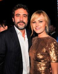 Jeffrey Dean Morgan and Malin Akerman at the after party of the premiere of
