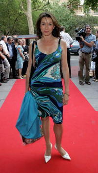 Cherie Lunghi at the premiere of