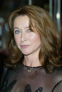 Cherie Lunghi at the gala premiere of