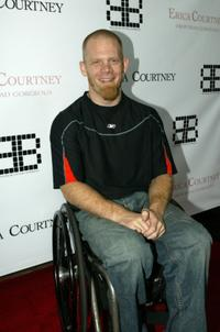 Mark Zupan at the after party of Erica Courtney opening her second Los Angeles boutique.