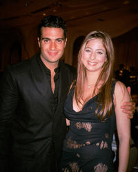 Jaime Camil and Odalys Garcia at the Don Francisco gala in California.