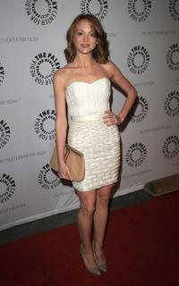 Jayma Mays at the 27th Annual PaleyFest.