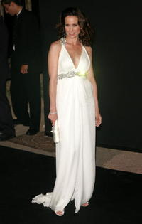Andie MacDowell at the Cannes Film Festival 60th Anniversary Dinner at La Roseraie during the 60th International Cannes Film Festival.