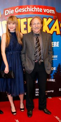 Lisa Maria Potthoff and Franz Xaver Kroetz at the German premiere of