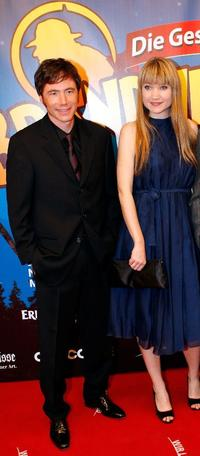 Michael Bully Herbig and Lisa Maria Potthoff at the German premiere of