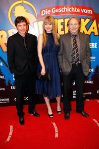 Michael Bully Herbig, Lisa Maria Potthoff and Franz Xaver Kroetz at the German premiere of