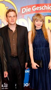 Sebastian Bezzel and Lisa Maria Potthoff at the German premiere of