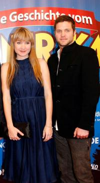 Lisa Maria Potthoff and Peter Ketnath at the German premiere of