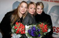 Barbara Bauer, Lisa Maria Potthoff and Rike Schmid at the premiere of