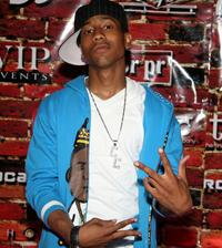 Brandon T. Jackson at the Chris Brown Off The Wall 18th birthday party.
