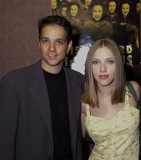Ralph Macchio and Scarlett Johansson at the New York premiere of