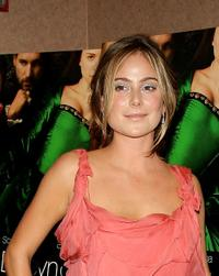 Amanda Brooks at the special screening of