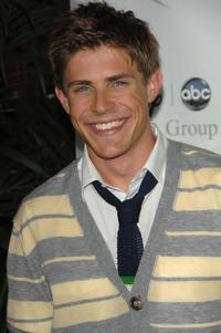 Chris Lowell at the Disney and ABC's TCA - All Star party in California.