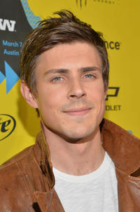 Chris Lowell at the Texas premiere of