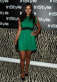 Jessica Lucas at the InStyle Magazine's 8th Annual Summer Soiree.