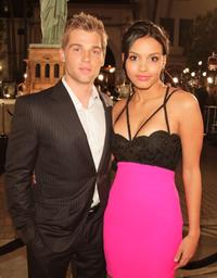 Mike Vogel and Jessica Lucas at the premiere of