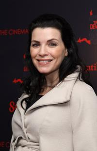 Julianna Margulies at the New York premiere of
