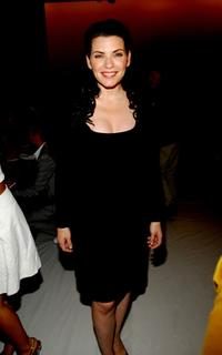 Julianna Margulies at the Narciso Rodriguez 2008 Fashion Show during the Mercedes-Benz Fashion Week Spring 2008.