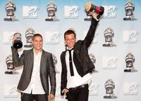 Sean Faris and Cam Gigandet at the 17th annual MTV Movie Awards.