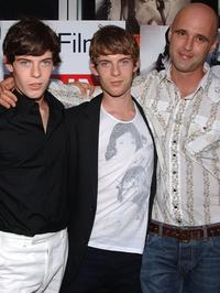 Harry Treadaway, Luke Treadaway and Director Keith Fulton at the premiere of