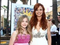Chloe Grace Moretz and Rachel Boston at the premiere of