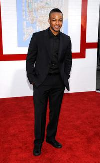 Collins Pennie at the premiere of