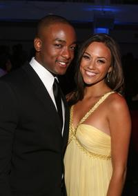 Collins Pennie and Jana Kramer at the premiere of