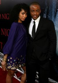 Mayaeni and Collins Pennie at the world premiere of