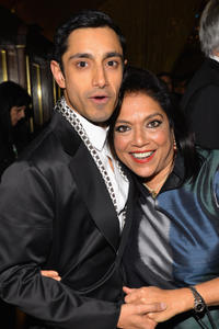 Rizwan Ahmed and director Mira Nair at the