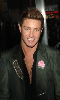 Lane Garrison at the premiere of