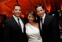 Abbey David Cooley, Jennifer Love Hewitt and Ross McCall at the
